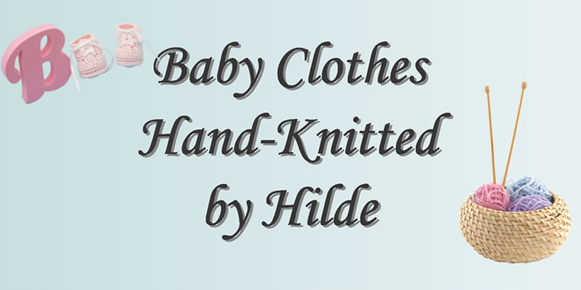 Hand-knitted by Hilde